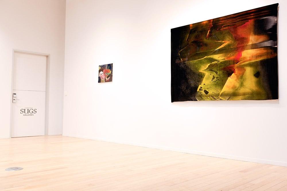 Slithering  3 (Velvet) , 183cm x 152cm (6' x 5'),2014