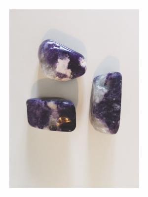 My beloved Violet Flame Opals