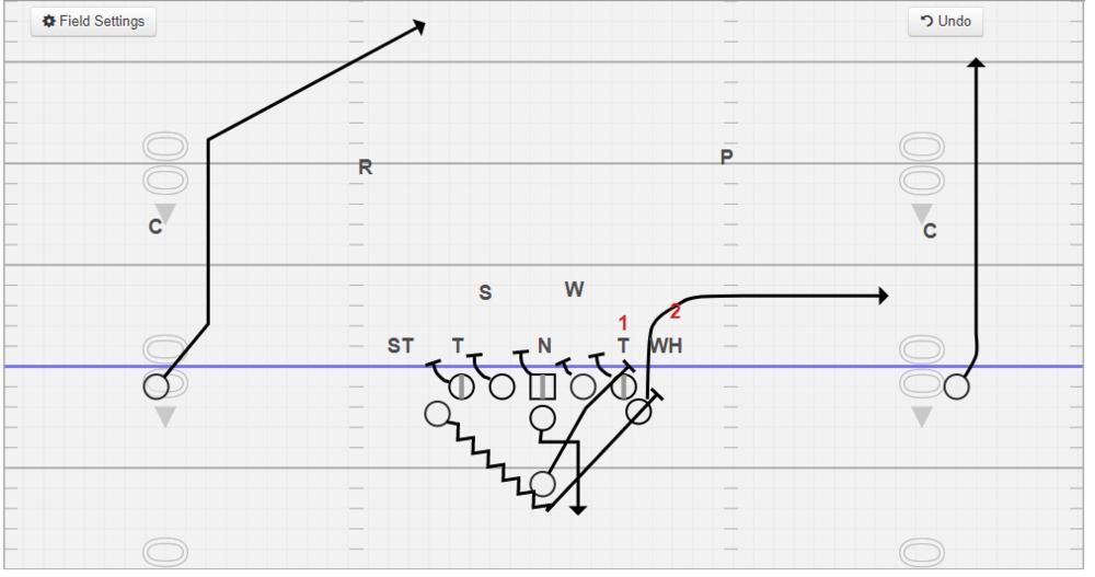 312 Sideline vs. 5-2 with full slide protection