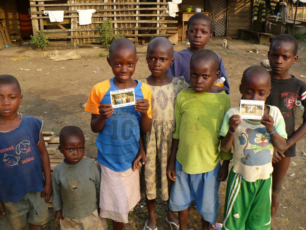Farmers children - our work will help them go to school