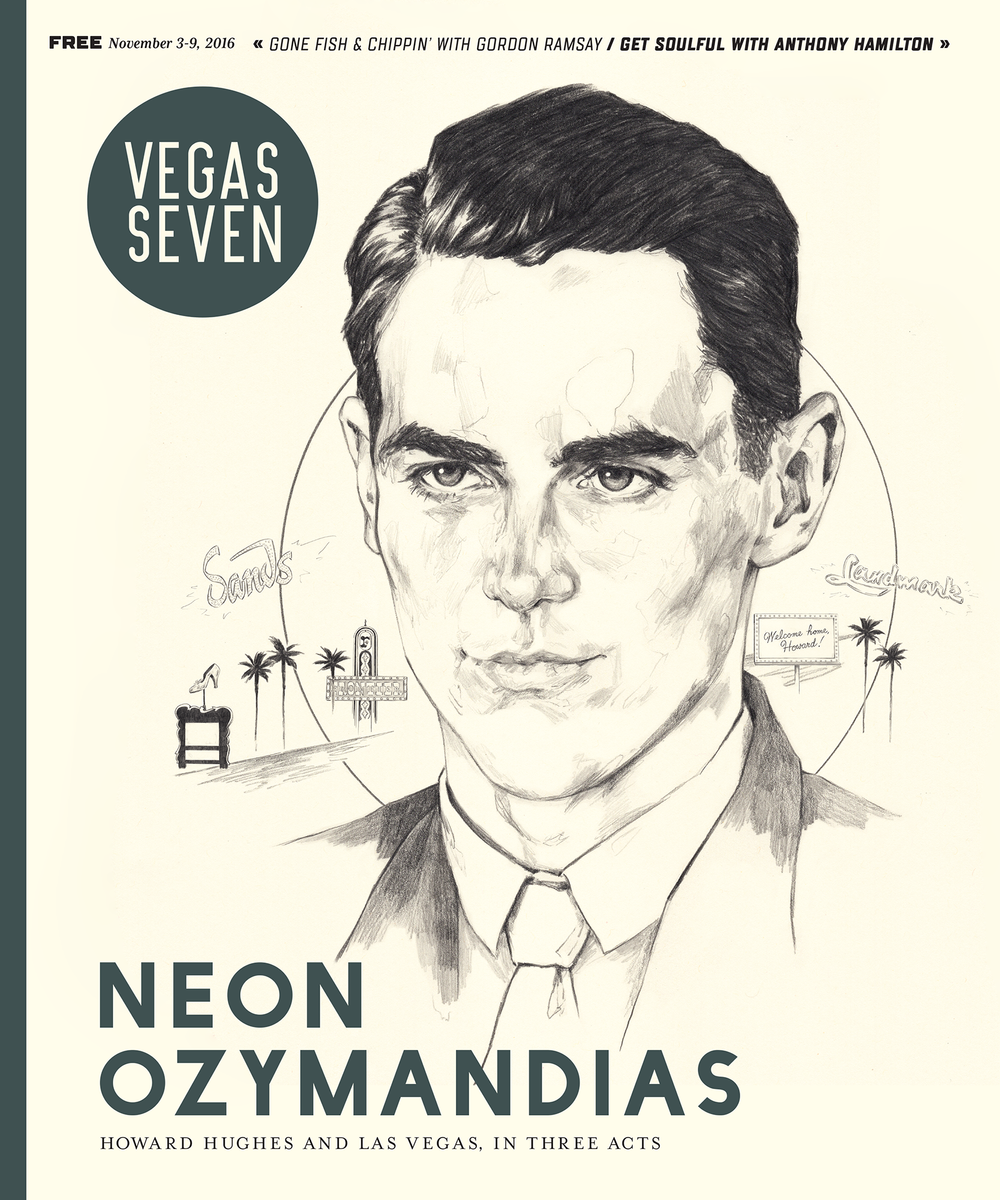 howard hughes cover illustration