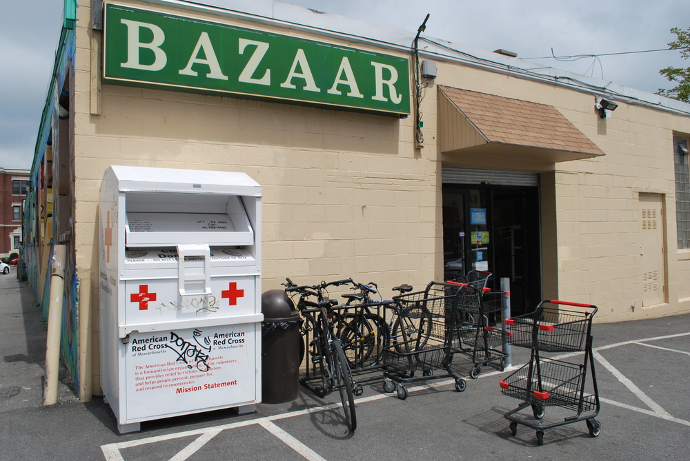"Bazaar on Cambridge in Brighton, MA as a possible location for ""Rami's Market"""