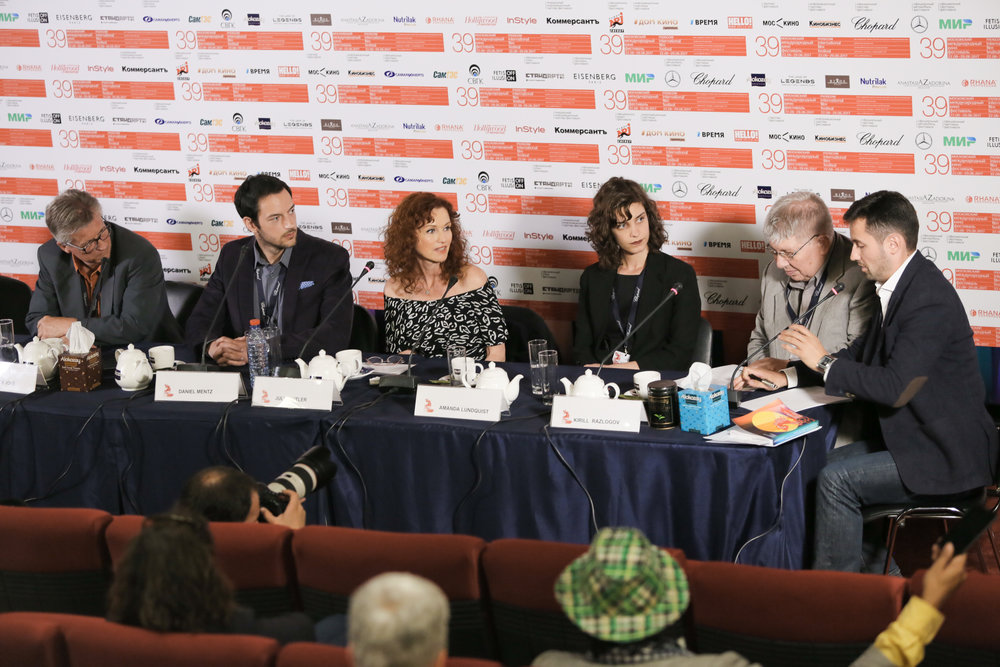 MIFF Press conference.  Amanda Lundquist  (Director)