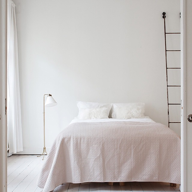 Stockholm apartment of Elin Kling || Beautiful, simple and serene...via @talisa_sutton archives