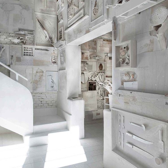 Hueso Restaurant, Mexico || Over 10 000 bones cover the interior surfaces... @hueso_restaurante photo by Jaime Navarro