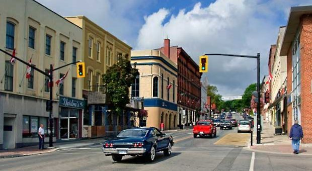 Main Street, Port Hope, Maine. Image used under Creative Commons from Flickr user Kiril Strax
