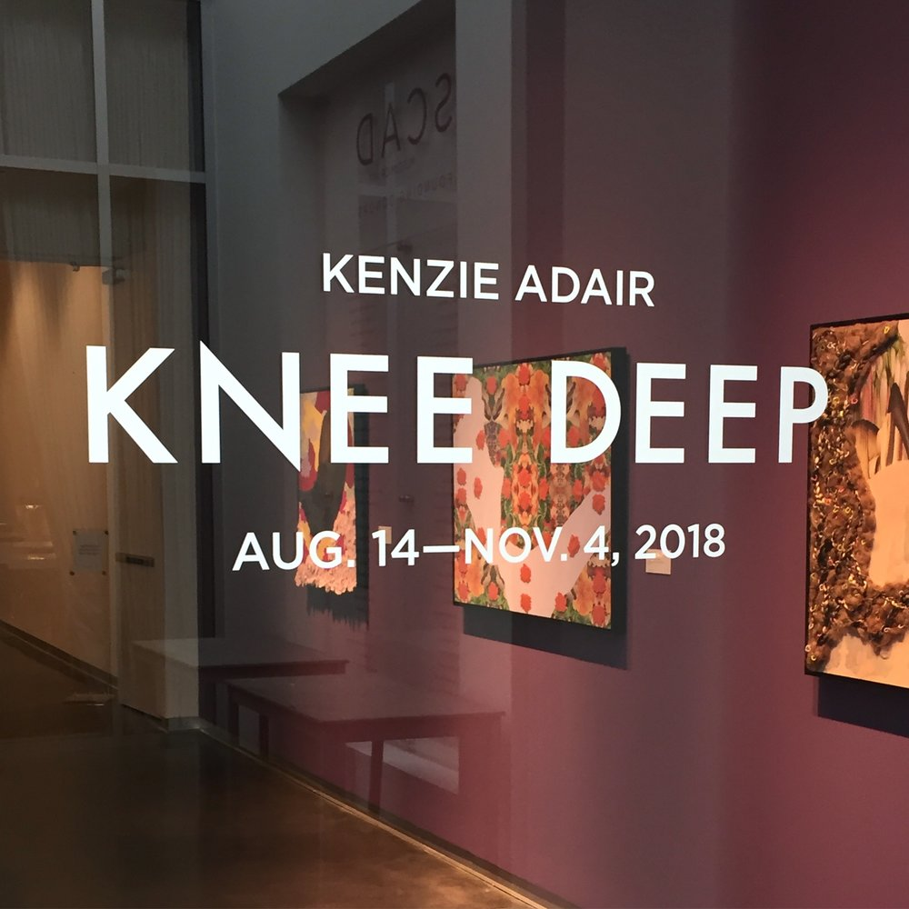 Knee Deep.  SCAD Museum of Art, Savannah GA. 2018.
