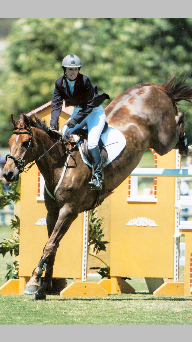Laura Gerst and Quito's Son in the Oaks Grand Prix