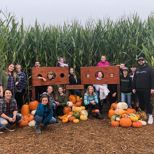 MSM at the Corn Maze! 🌽