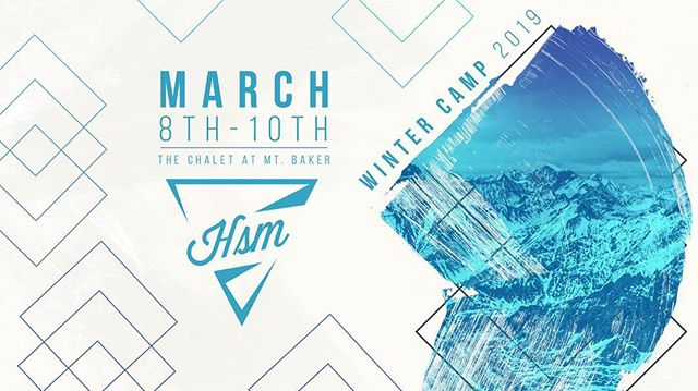 WINTER CAMP SIGN UPS ARE HERE! March 8th-10th, we will be returning to The Chalet at Mt. Baker for a weekend devoted to skiing, community, and growing in our relationships with God! Early Bird pricing lasts until December 31st. Space is limited so be sure to sign up to snag a spot ASAP! Sign up link is in our bio. YOU BELONG AT WINTER CAMP 2019!