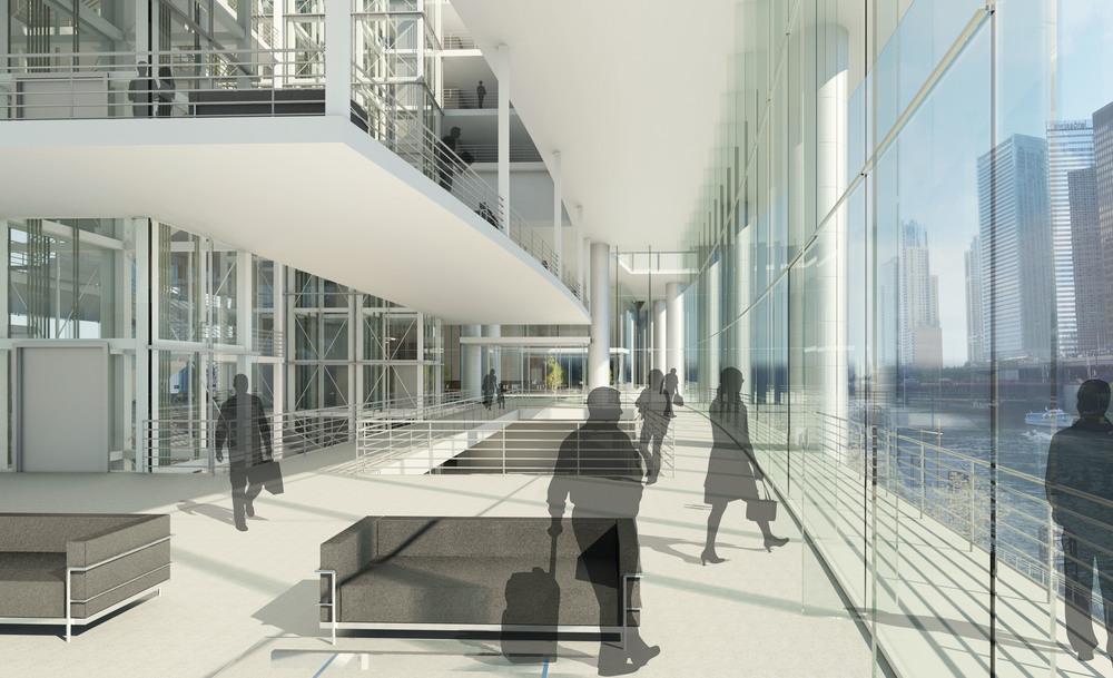 Transit Hub Lobby