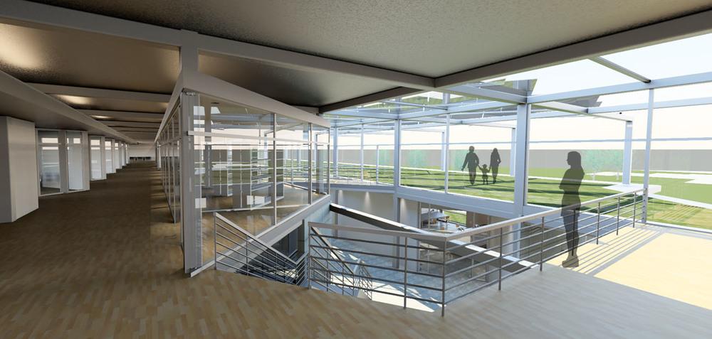 Library + Atrium