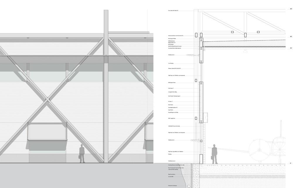 Hangar Wall Details