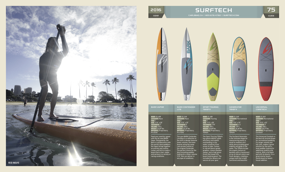Surftech in SUP the MAG