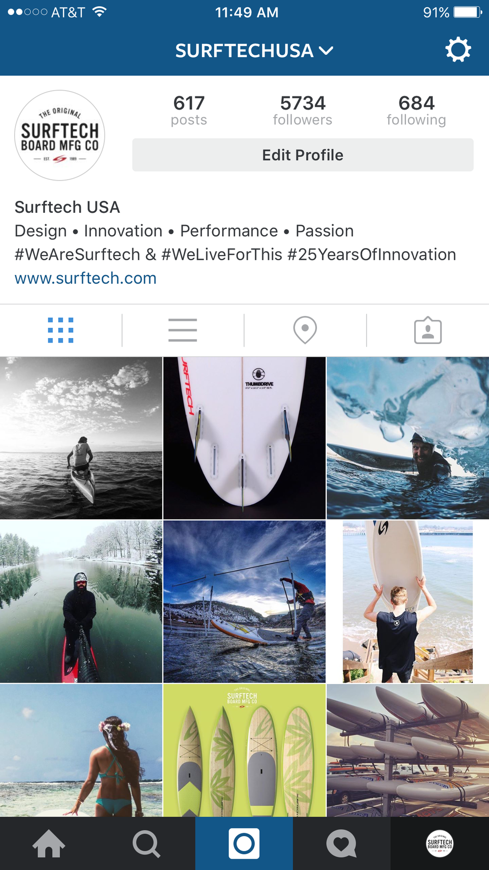 OFFICIAL ACCOUNT FOR SURFTECH