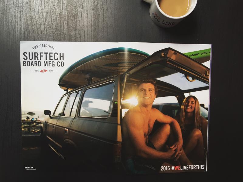 SURFTECH PRINT ADS
