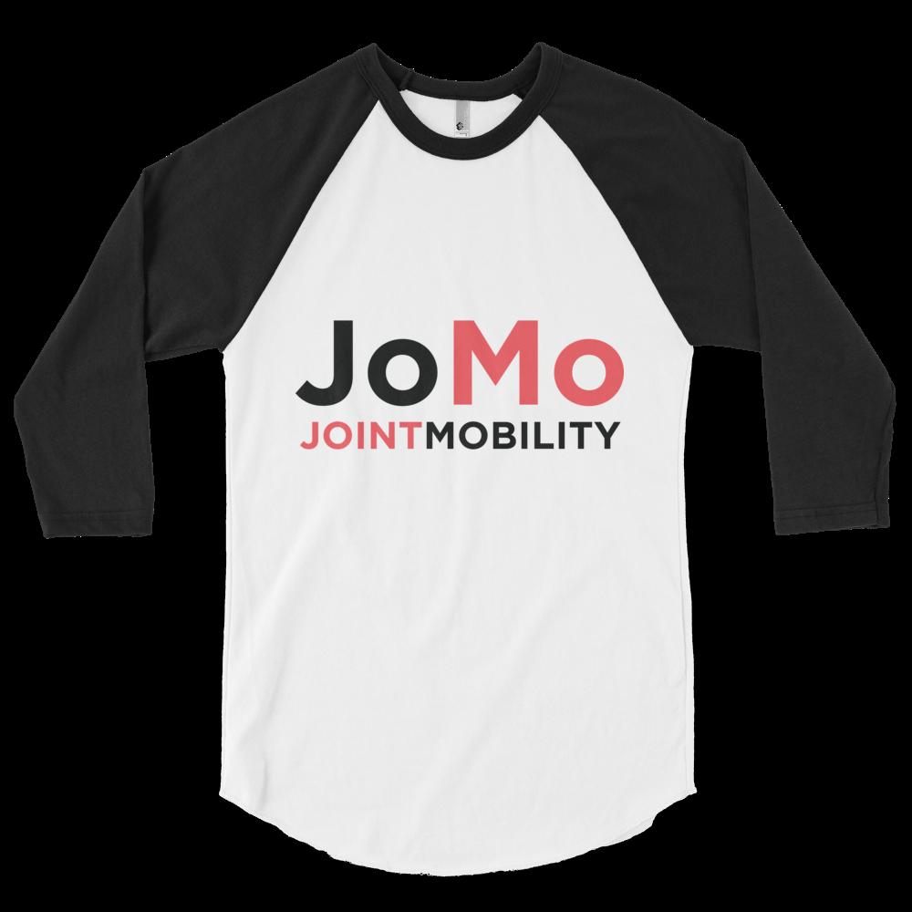JoMo - JoMo Logo - Raglan - White Black.png