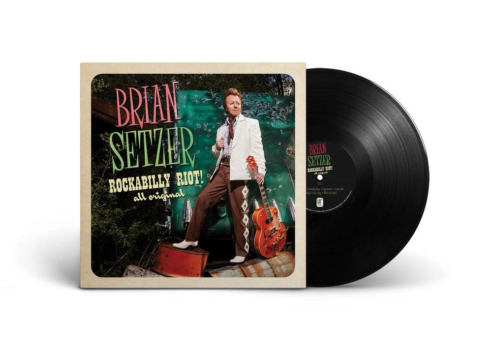 Brian Setzer  Rockabilly Riot! All Original (Front)