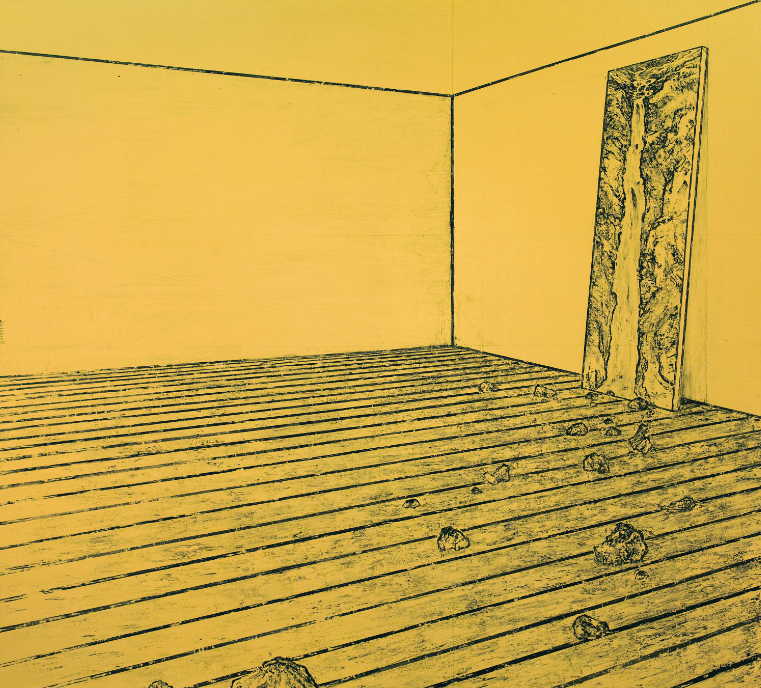 Ni Youyu 倪有鱼, Big Fall I 大瀑布 1, 2012, Acrylic on canvas 布面丙烯, 190 x 210 cm