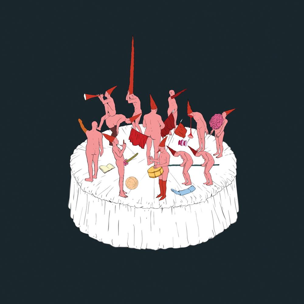 Wu Junyong 吴俊勇, 2007, Cake 蛋糕, Lightbox 灯箱, 80 x 80 cm, Ed 8
