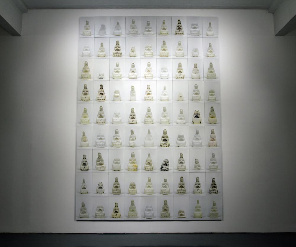 Ni Youyu 倪有鱼, Guan Yin 观音, 2010 - 2013, Conceptual art (Performance, installation and photography) 观念艺术 (行为 装置 图像), Dimension variable 尺寸可变