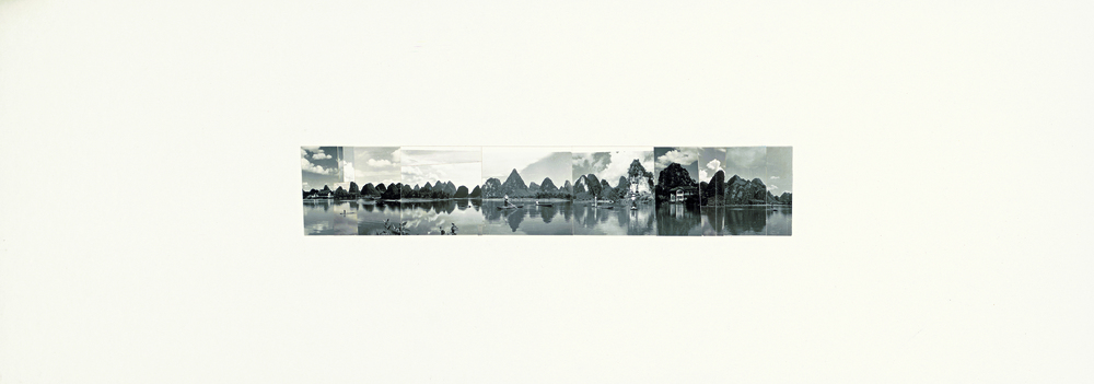 Ni Youyu 倪有鱼, Freewheeling Trip II 逍遥游 2, 2011 - 2012, Collage 拼贴, 20 × 60 cm