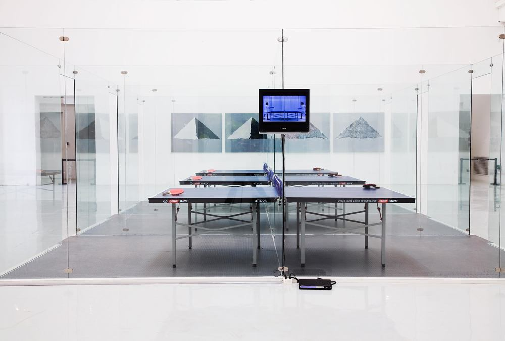 Li Qing 李青, Training Rooms 训练房, Video Installation 录像装置, 2008