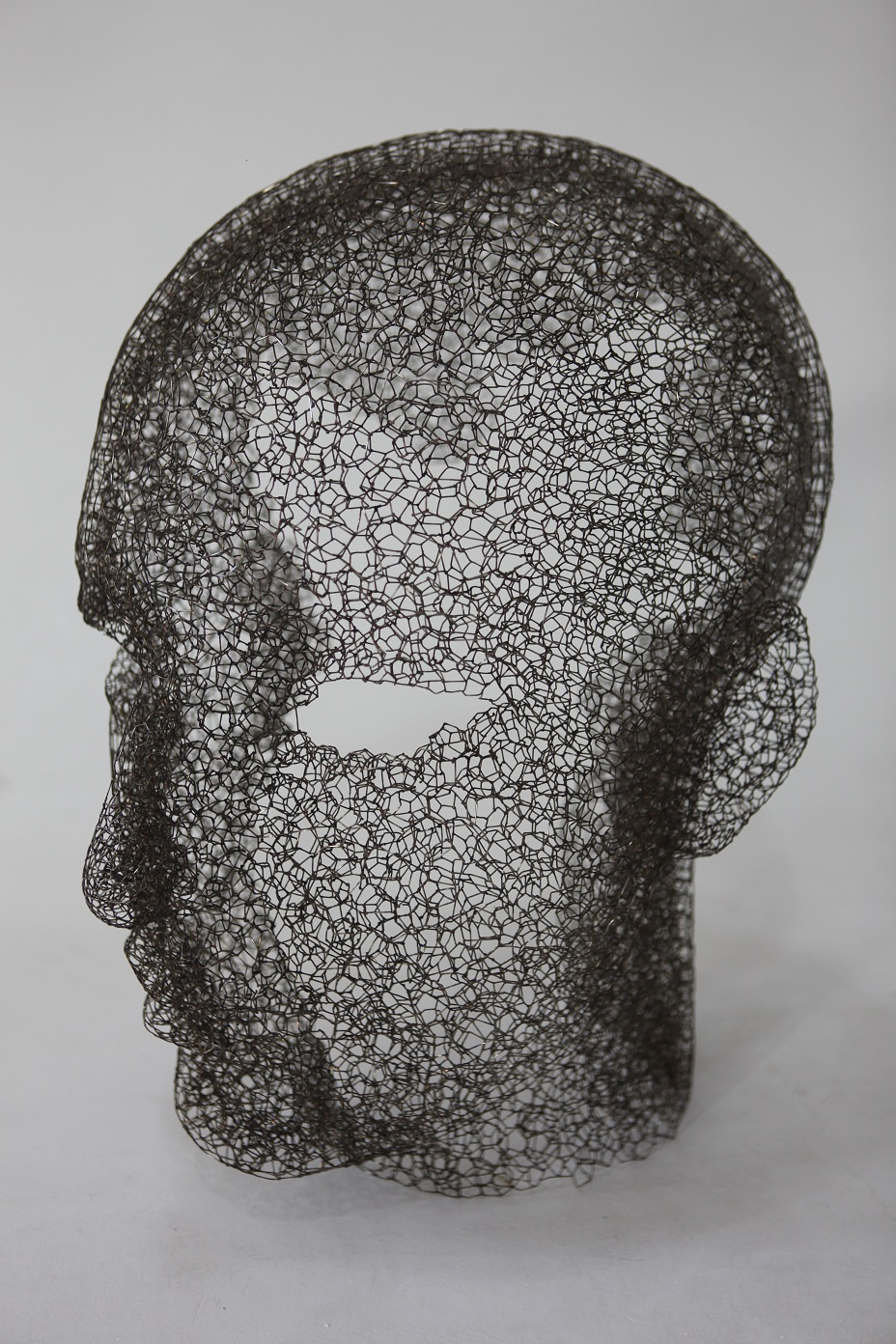 Zheng Lu 郑路, As an Instance 如我一瞬, 2013, Stainless Steel 不锈钢, 55 x 35 x 65 cm