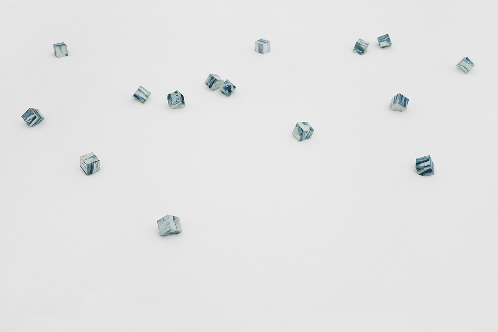 Liu Ren 刘任, Filling the Sea - Sea Cubes 填海-海粒 (Detail, 局部)