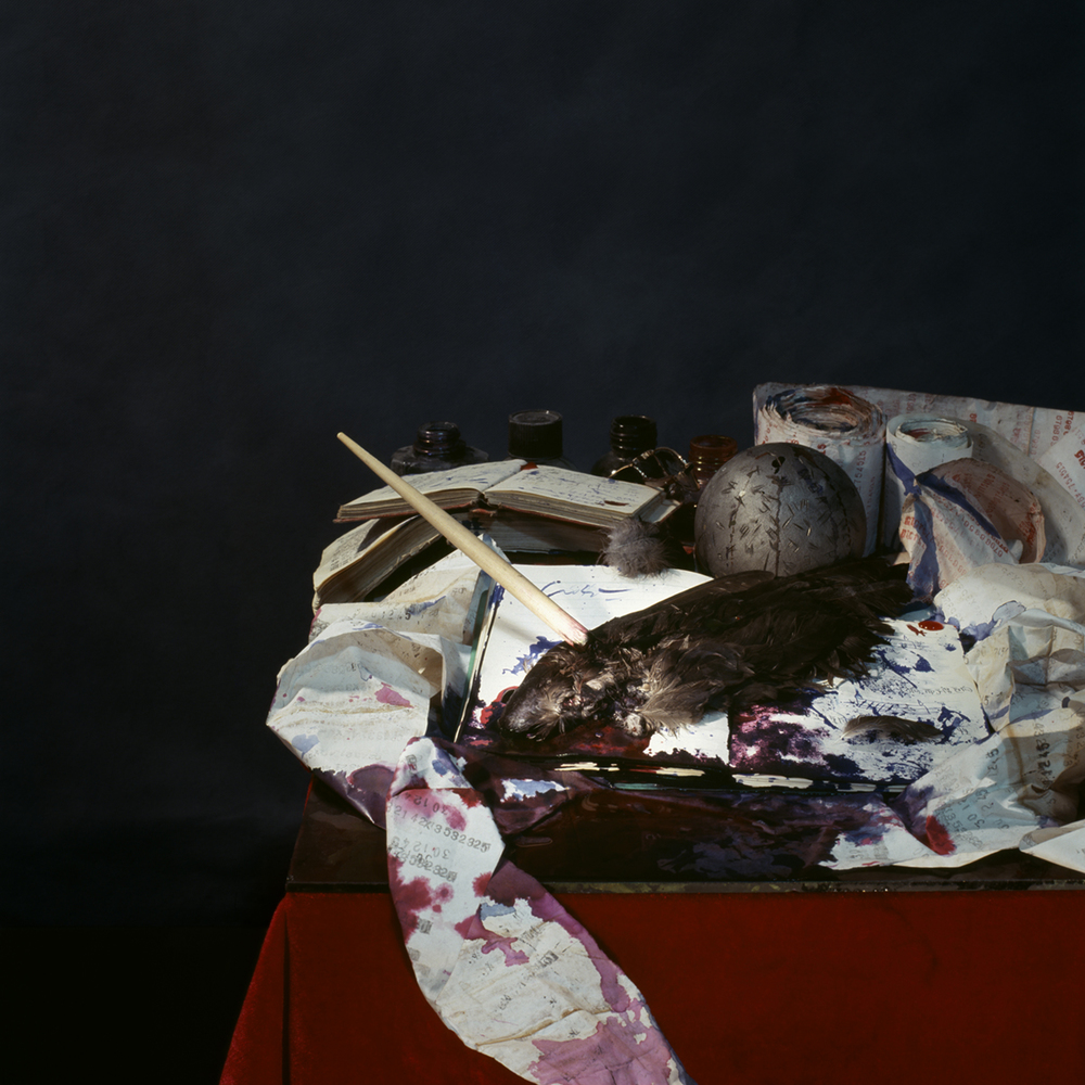 Chen Wei 陈维, The Augur's Game No.1, 2007, Archival inkjet print 收藏级艺术微喷, 80 x 80 cm