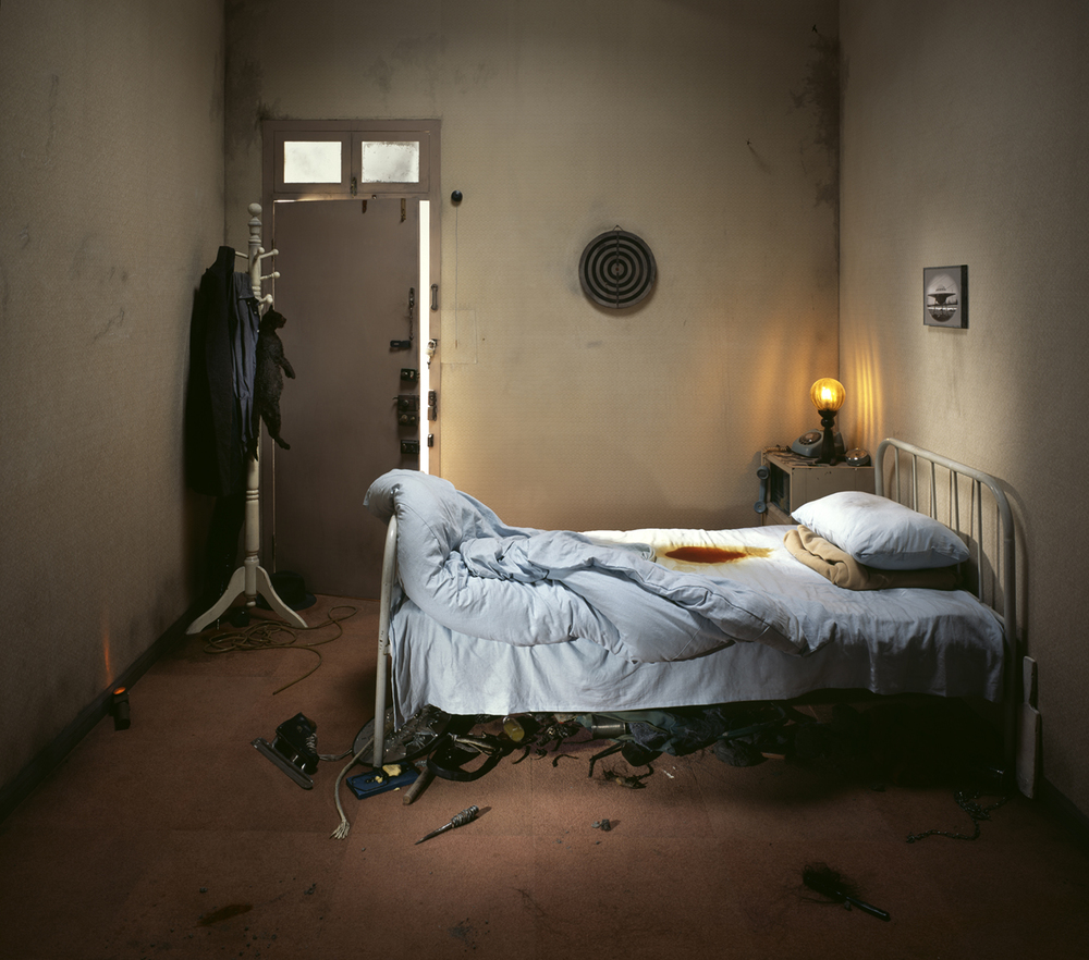 Chen Wei 陈维, House of Recovery, 2008, Archival inkjet print 收藏级艺术微喷, 150 x 170 cm