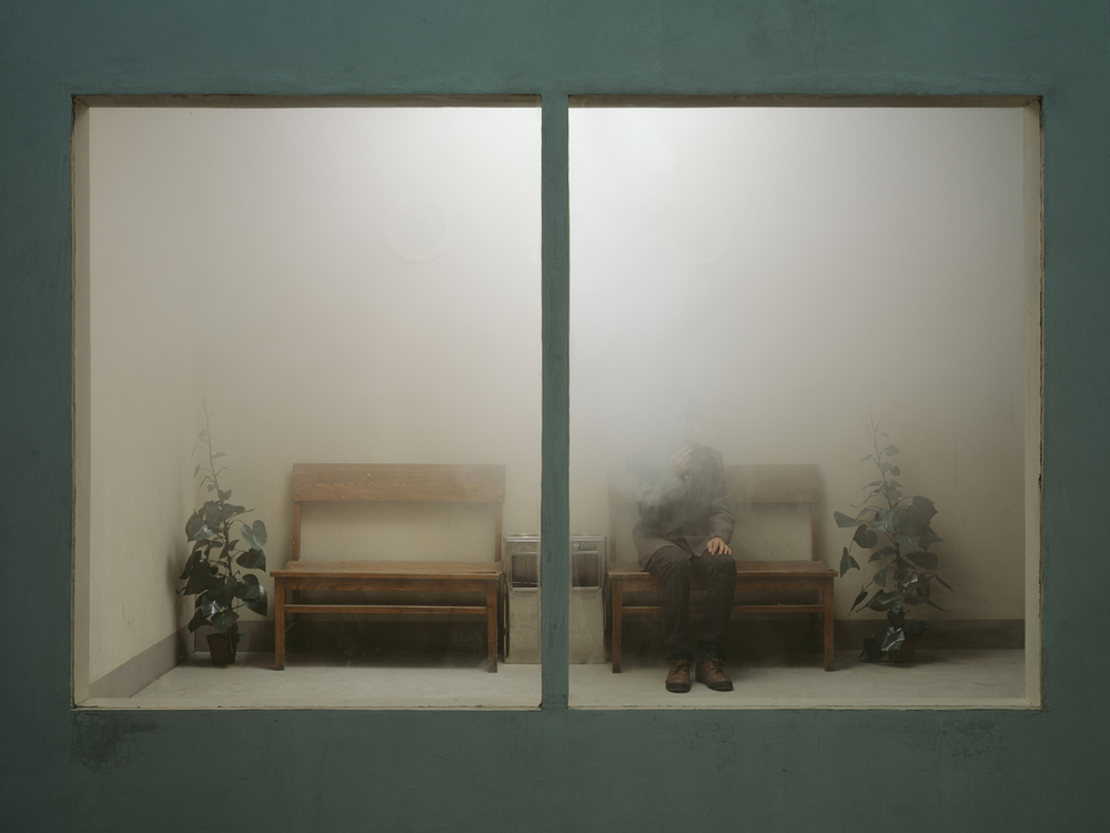 Chen Wei 陈维, A Foggy Afternoon, 2012, Archival inkjet print 收藏级艺术微喷, 150 x 00 cm