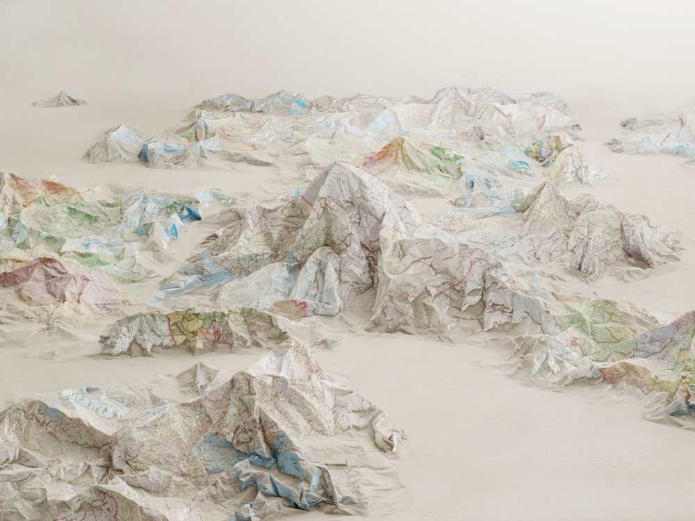 Ji Zhou 计洲, Map No.2 地图之二, 2013, Ultra Giclee 艺术微喷, 111 x 150 cm, Ed of 4
