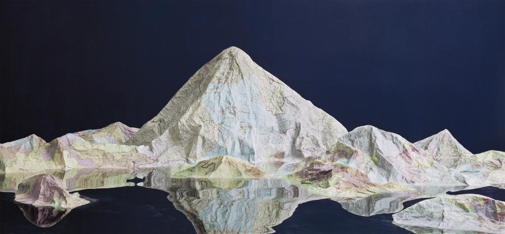 Ji Zhou 计洲, Map No.3 地图之三, 2014, Ultra Giclee 艺术微喷, 138 x 300 cm, Ed of 4