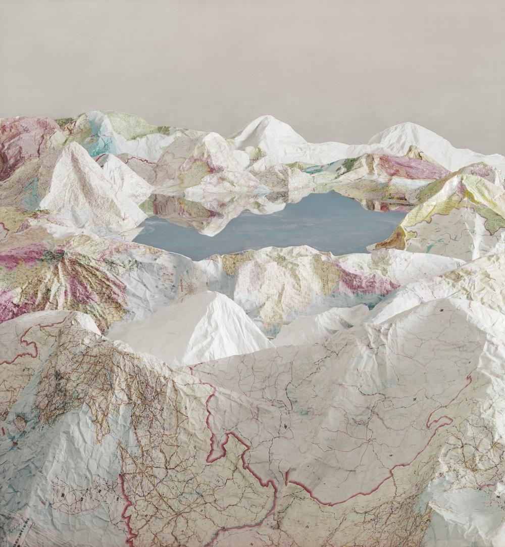 Ji Zhou 计洲, Map No.5 地图之五, 2014, Ultra Giclee 艺术微喷, 150 x 138 cm, Ed of 4