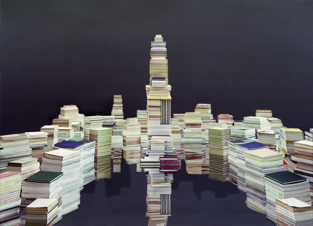 Ji Zhou 计洲, Maquette No.2 模型之二, 2014, Ultra Giclee 艺术微喷, 150 x 207 cm, Ed of 4