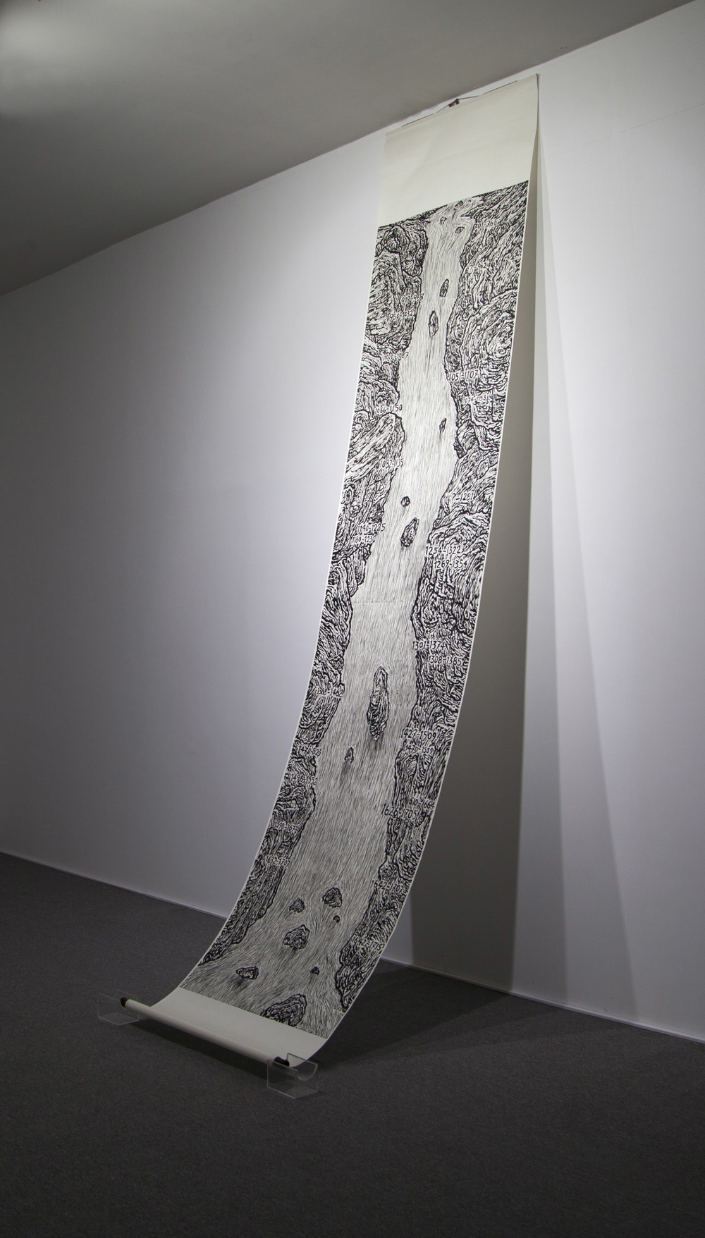 Ni Youyi 倪有鱼, View of History 历史观, 2014, Exhibition View 展览装置图