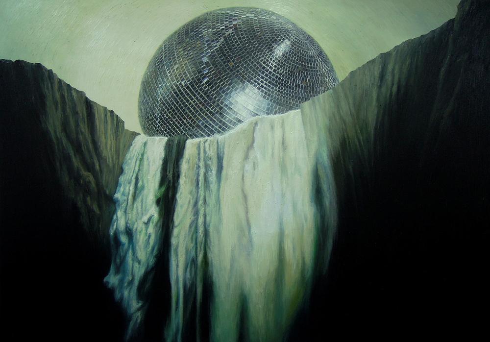 Shang Chengxiang 商成祥, Entity No.2 存在体2号, 2014, Oil on canvas 布面油画, 146 x 180 cm