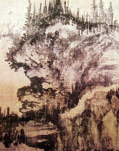 Song Dynasty inkwash painting in detail