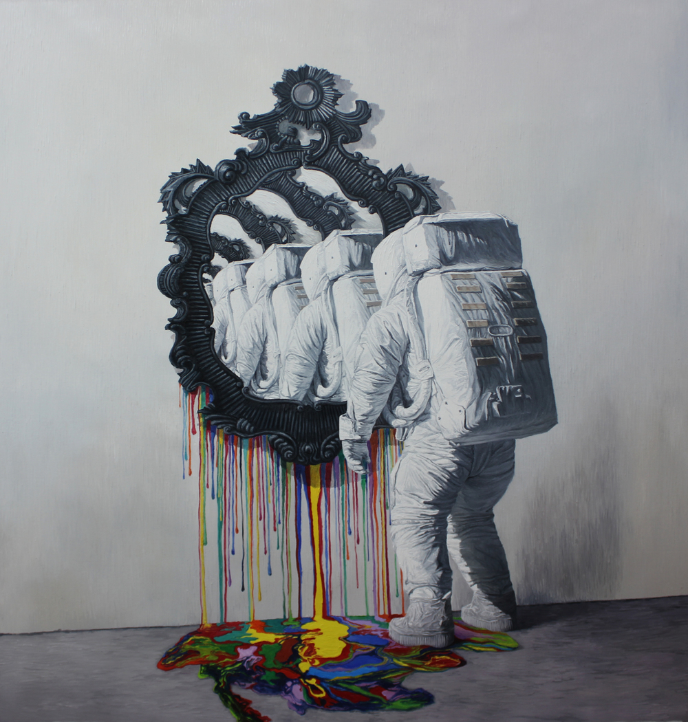 Shang Chengxiang 商成祥, Self-Birection No.1 自我趋向之一, 2014, Oil on canvas 布面油画, 200 x 180 cm