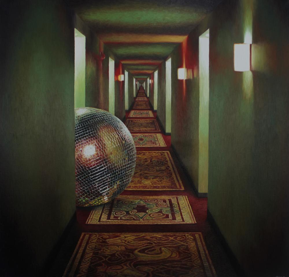 Shang Chengxiang 商成祥, Entity No.1 存在体1号, 2014, Oil on canvas 布面油画, 150 x 145 cm