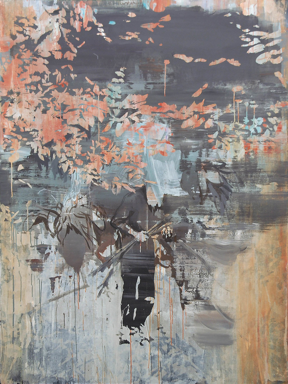 Lu Song 吕松, Coming Home, 2015, Oil on canvas 布面油画, 200 x 150 cm