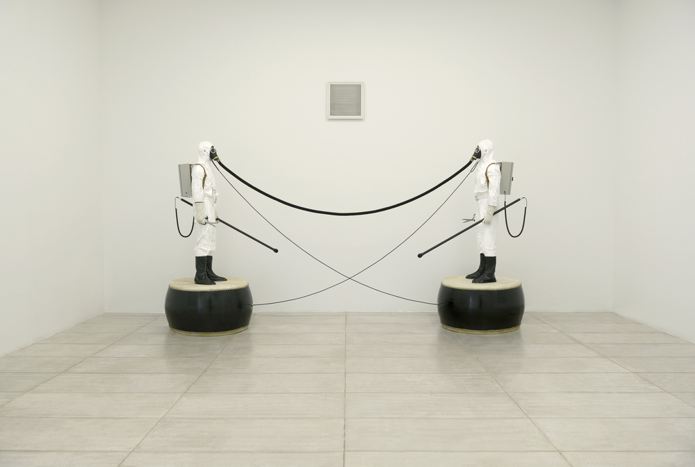 Gao Lei 高磊,A-9, 2012, Mixed medium installation 综合材料装置, 250 x 120 x 240 cm