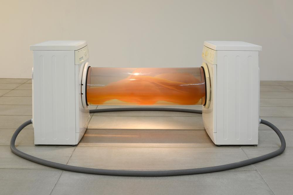 Gao Lei 高磊, U-91, 2012, Mixed media installation 综合材料装置, 85 x 180 x 60 cm