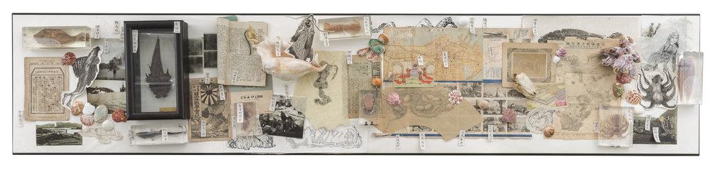 Zhang Wenzhi 张文智, Dalny Display Series 达里尼展陈系列, 2018, Installation 装置, Dimensions various 尺寸可变