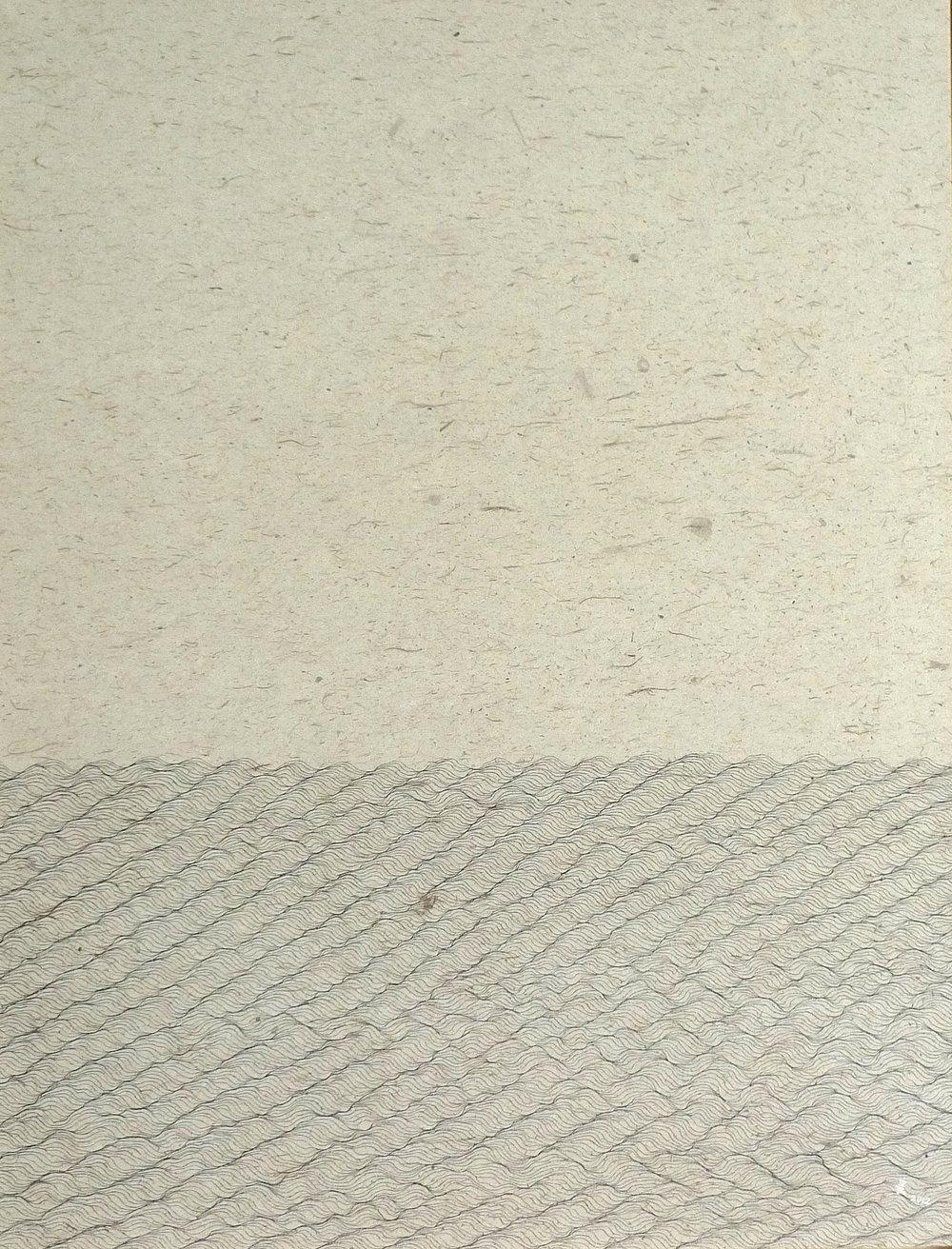 Zhou Jianjun 周建军, Untitled 无题, 2013, Ink on paper 纸本水墨设色, 121 x 93 cm