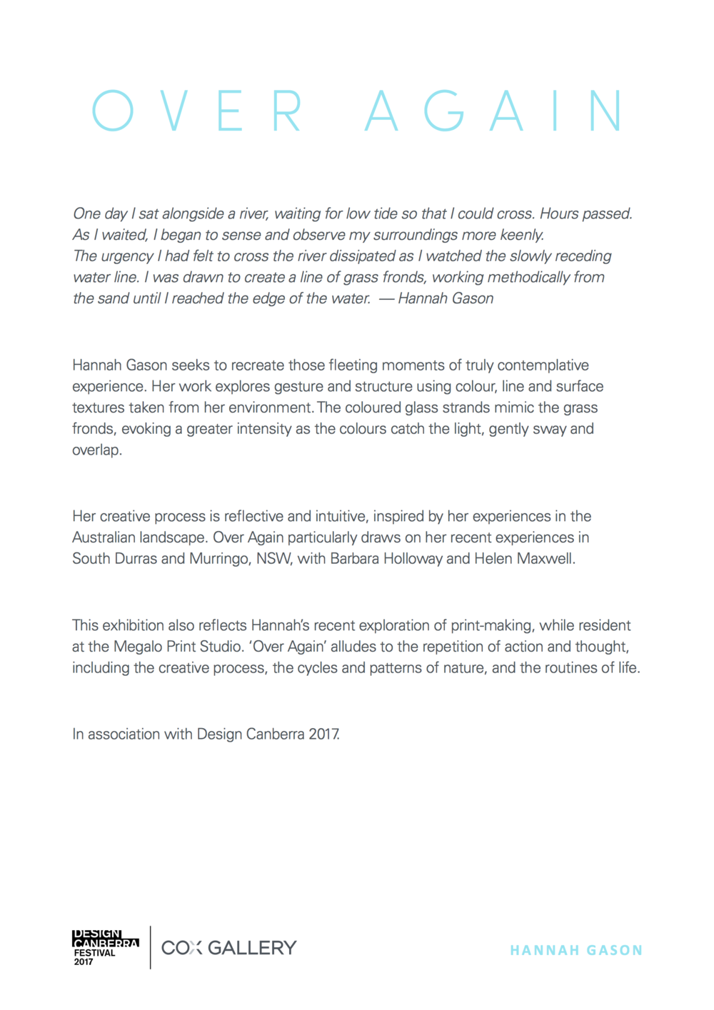 2017-10-10 COX Gallery_Artist Statement-Hannah Gason.png
