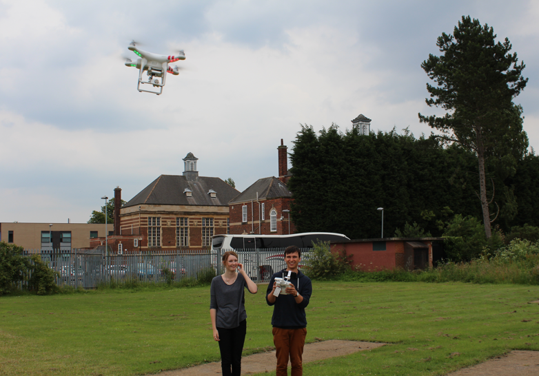 Flying the Quadcopter