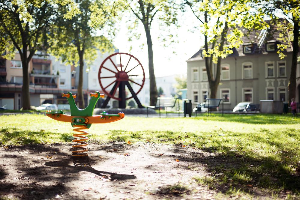 Spielplatz in Bochum Gerthe. 1. Fotowalk der FB Gruppe Bochum in Bildern. Nette Leute!