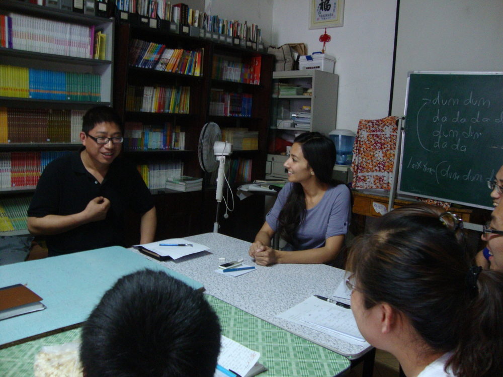 Adult Beginning English, Zigen Migrant Center -- Beijing, China
